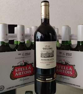 HEB León, Cerro Gordo. Dos Six cerveza Stella Artois gratis en la compra de una botella de vino tinto, varias marcas.
