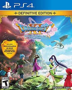 Amazon: [PS4] Dragon Quest XI S: Echoes of An Elusive Age - Definitive Edition (Amazon)