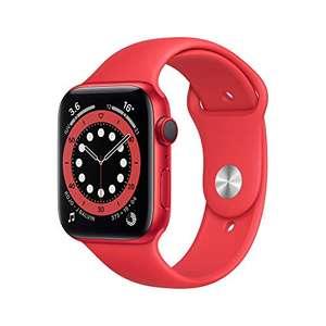 Amazon: Apple Watch Series 6 (GPS + Cellular) • Caja de Aluminio Product(Red) de 44 mm • Correa Deportiva Product(Red) - Estándar