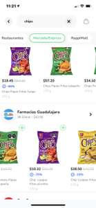Rappi chips 170 grs $10.32