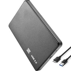 Amazon: Carcasa de Disco Duro móvil USB 3.0