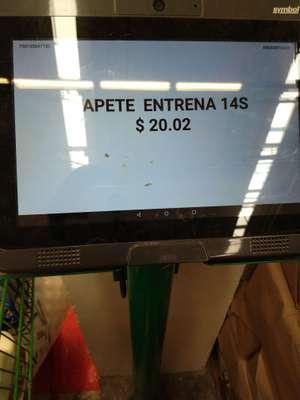 Bodega Aurrera: Tapete entrenador y más .01 .02 y .03