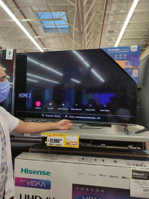 "Walmart Pantalla LG 55"" nanocel"