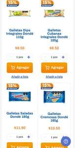 Chedraui: 15% y 10% de descuento en Galletas marca Dondé seleccionadas