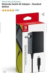 Amazon: Nintendo Switch AC Adapter - Standard Edition