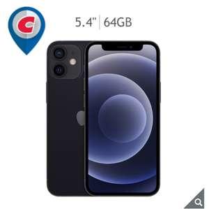 Costco: Apple iPhone 12 Mini 64GB Negro (Telcel)