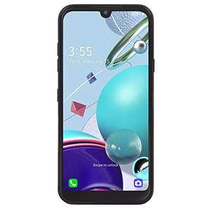 Amazon Total Wireless LG K31 Rebel 4G LTE Smartphone prepago (Cerrado) - Negro - 32GB - Tarjeta SIM incluida - CDMA