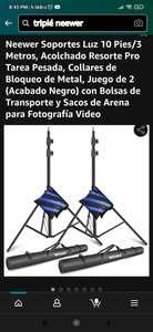 Amazon: Tripié Neewer 3 mts