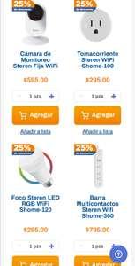Chedraui: 25% de descuento en artículos smart home Steren