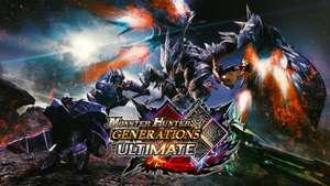 (Switch eShop Brasil) Monster Hunter Generations Ultimate - Precio mas bajo historico