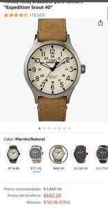 "Amazon: Timex, Reloj brazalete para hombre ""Expedition Scout 40"""
