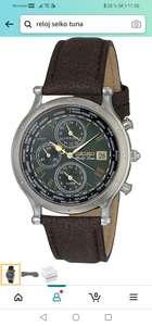 Amazon : Reloj Seiko Cronógrafo Mundial.