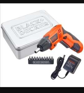 RadioShack Atornillador Inalámbrico Recargable Black and Decker / 600 mAh / 4.8 V