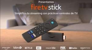 Amazon: Fire TV Stick con control remoto por voz Alexa (incluye control de TV)   Dispositivo de streaming HD   edición 2021