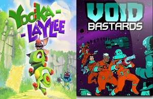 Epic games: gratis los juegos Yooka-Laylee y Void Bastards a partir del 19 de agosto