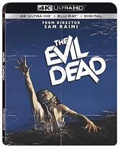 Amazon:The Evil Dead Blu-ray 4K + Blu-ray + Copia Digital