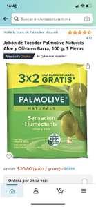 Amazon: 3 jabones Palmolive 100 gramos