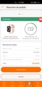 Linio: Apple watch series 6 40mm GPS+cellular