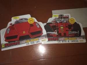 Walmart: Libros para colorear Ferrari de Panini