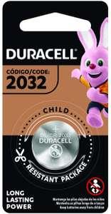 Amazon: Pila Duracell 2032 tipo moneda 3V