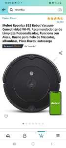 Amazon: iRobot Roomba 692