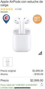 Costco, Apple AirPods con estuche de carga