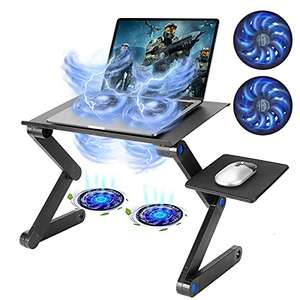 Amazon: TXG Mesa con ventilación ajustable para laptop