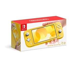 Amazon: Nintendo Switch Lite Amarillo, otros colores están un poco mas caros.