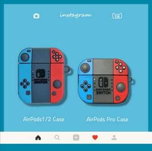 Shopee: Fundas de Nintendo switch para airpods 1,2 y Pro
