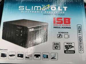Bodega Aurrera: Regulador de voltaje Sola Basic SlimVolt 1300 1300VA entrada y salida de 127V negro