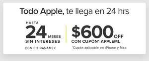 Mercado Libre: $600 de descuento en marca Apple en ML