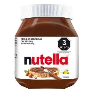 Cornershop - Nutella a $7.01 de 350g (chedraui)