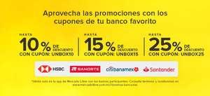 Mercado Libre : Unboxing Days - Cupones de descuento (Sep 6 - 13)