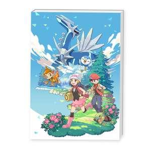 CDJapan: Pokémon Brilliant Diamond + Artbook - Nintendo Switch (Centro Pokémon)
