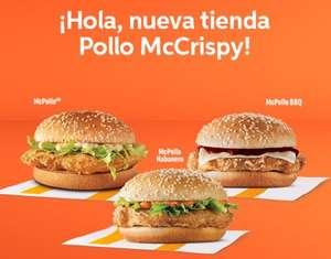 DiDi Food: McCrispy (Mc Donald´s) 80% de descuento (leer descripción)