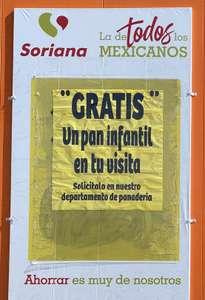Soriana Pan gratis