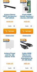 Chedraui: 25% de descuento en accesorios para tv seleccionados