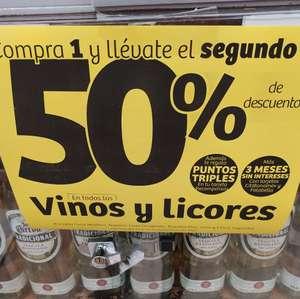 Soriana Hiper: compra 1 y el segundo al 50% en vinos y licores del 10 al 16 de septiembre