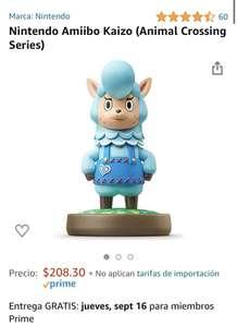 Amazon: Nintendo Amiibo Kaizo (Animal Crossing Series)