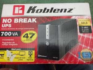 Chedraui: No break Koblenz UPS 700va en liquidación