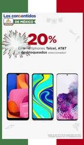 Chedraui: 20% de descuento en Celulares Telcel, AT&T y desbloqueados de las marcas Samsung, Huawei, Xiaomi, ZTE y TCL