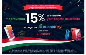 Doto : 15% de descuento pagando con Kueski (Compra mín. $6500 | descuento max. $1500)