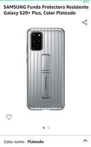 Amazon: Funda Samsung S20+ oficial de uso rudo.