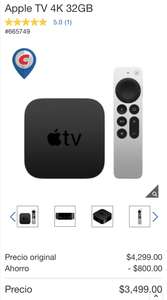 Costco: Apple TV 4K 32GB (Chip A12)
