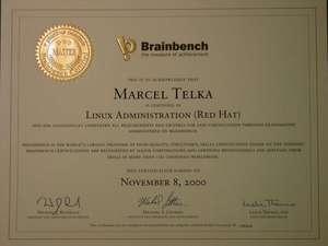 20 Certificaciones en TI de Brainbench inglés
