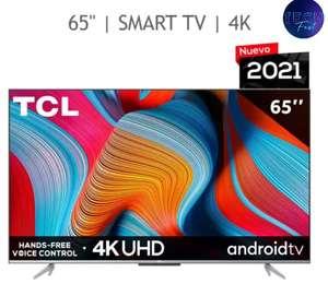 """Costco: TCL Pantalla 65"""" 4K UHD ANDROID TV"""