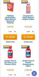 Chedraui: 20% de descuento en productos Vick, Pepto Bismol y Nyquil Z seleccionados