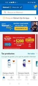 Walmart descuento DE $200 AL COMPRAR $1,699