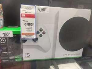 Chedraui Xbox series S en liquidación y mas