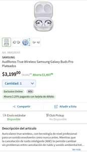 Sam's Club: Samsung Galaxy buds pro